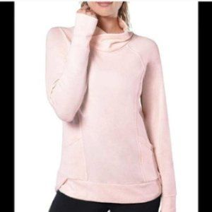 Yogalicious Light Peach Knit Pullover